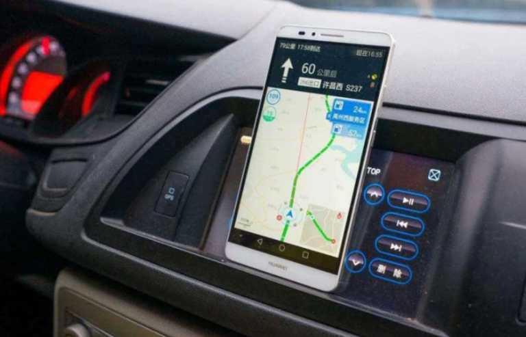 phone navigation & traffic laws