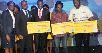 Les 3 gagans du MTN Innovation Challenge