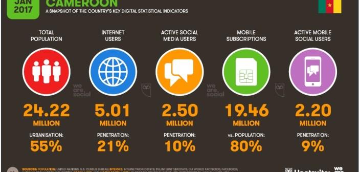 Le Mobile au Cameroun en 2017