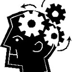 Cartoon of cogs working in a brain