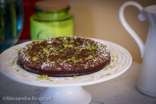 laura calder's chocolate picnic cake-1
