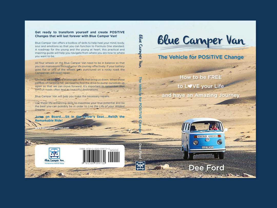 Blue Camper Van: The Vehicle for POSiTiVE Change