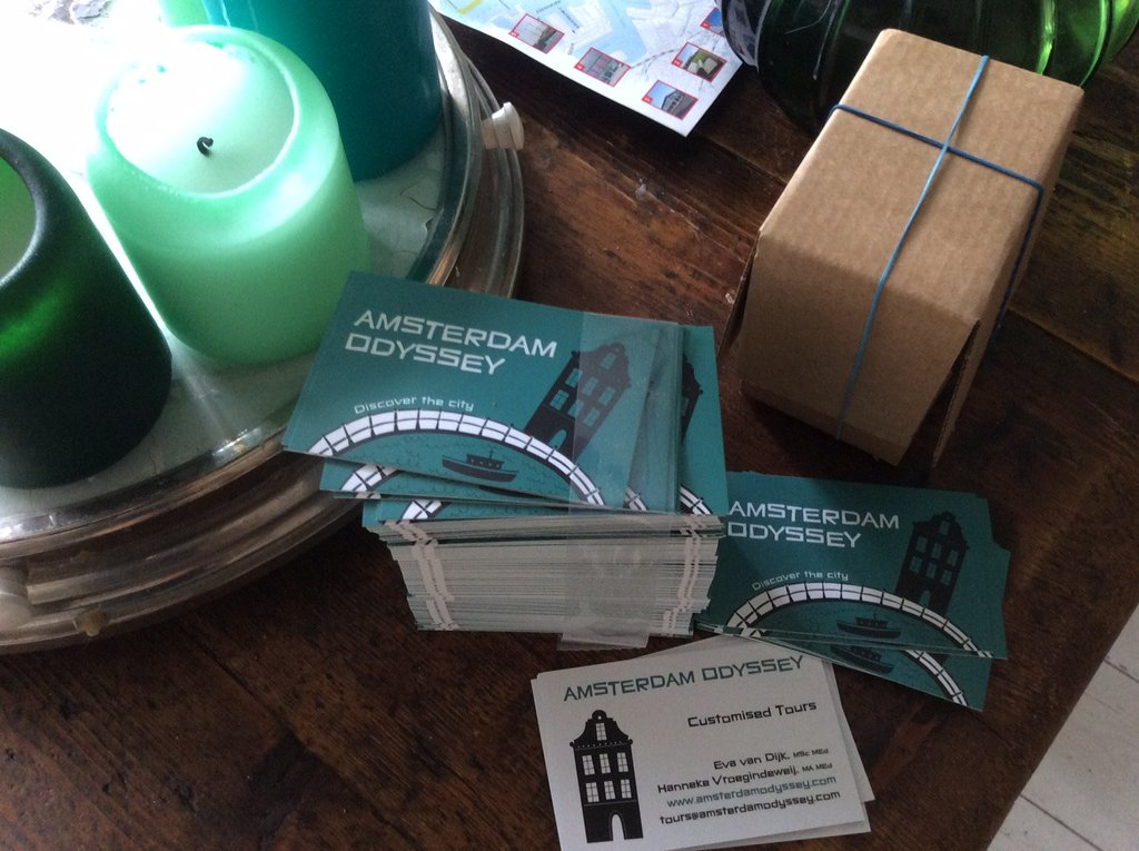 Amsterdam Odyssey Business cards