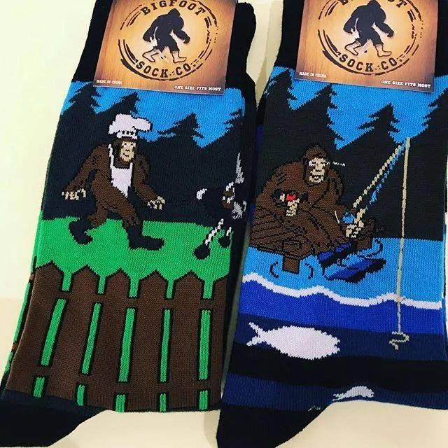 Bigfoot Socks Spotted at Lemonceillo