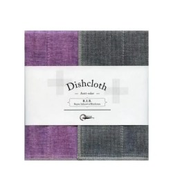 Nawrap Dishcloth Lavender w/ Binchotan Charcoal