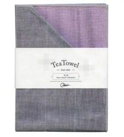 Nawrap Tea Towel Lavender w/ Binchotan Charcoal