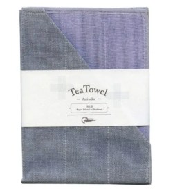Nawrap Tea Towel Light Purple w/ Binchotan Charcoal