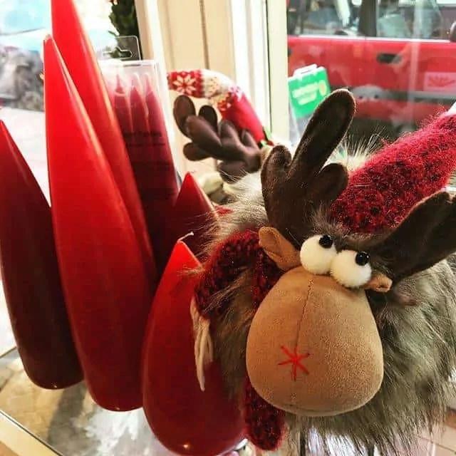 Plush Christmas Reindeer