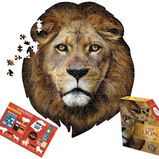550 Piece Madd Capp Lion Puzzle