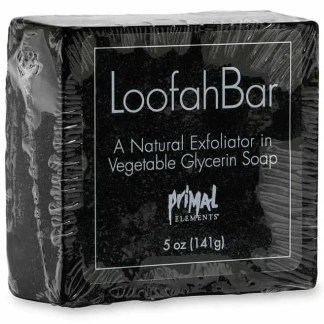 Primal Elements Loofah Soap - Smokey Vetiver