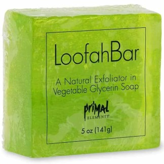 Primal Elements Loofah Soap - Juicy Kiwi