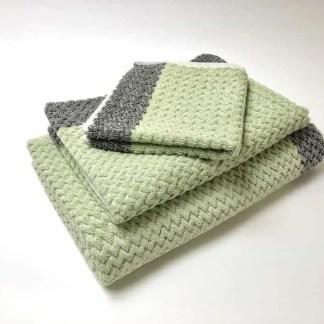 Turkish Towels – Chevron Pastel Lime