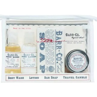 Barr-Co. Original Scent Travel Kit