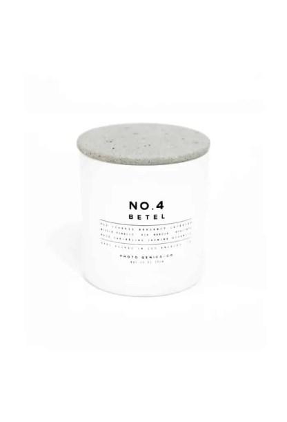 Photogenics + Co No. 4 Glass Candle