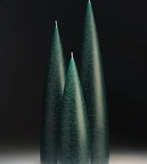 Tall Forest Green Barrick Design Candles at Lemonceillo Home & Gift