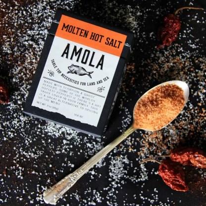 Amola Salts Molten Hot Salt