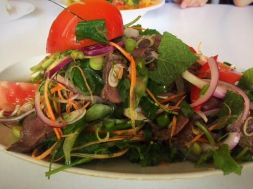 Yum Beef Salad