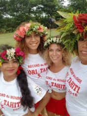 Record du monde de ORI Tahiti