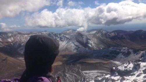 NZ tongariro volcan