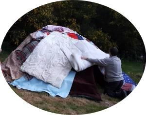 hutte de sudation-stage chamanique