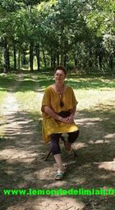 Carole Elimiah,thérapeute et  fondatrice de la méthode Ecoute Holistique Sensitive