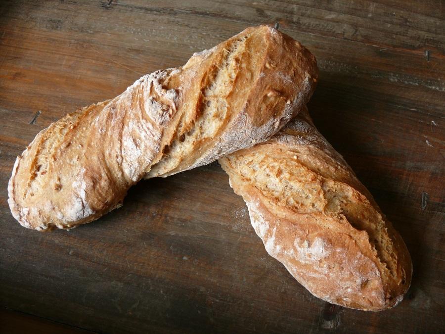 Pain sans p trissage tr s tr s revisit - Recette pain sans levure ...