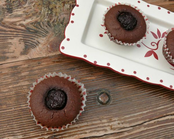 brownie cerises