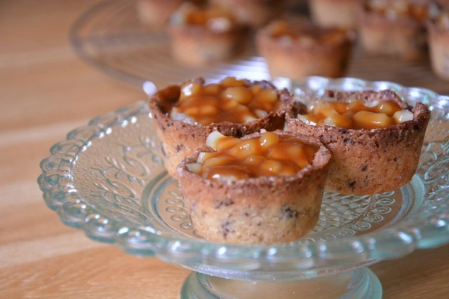 cookies cup pomme caramel
