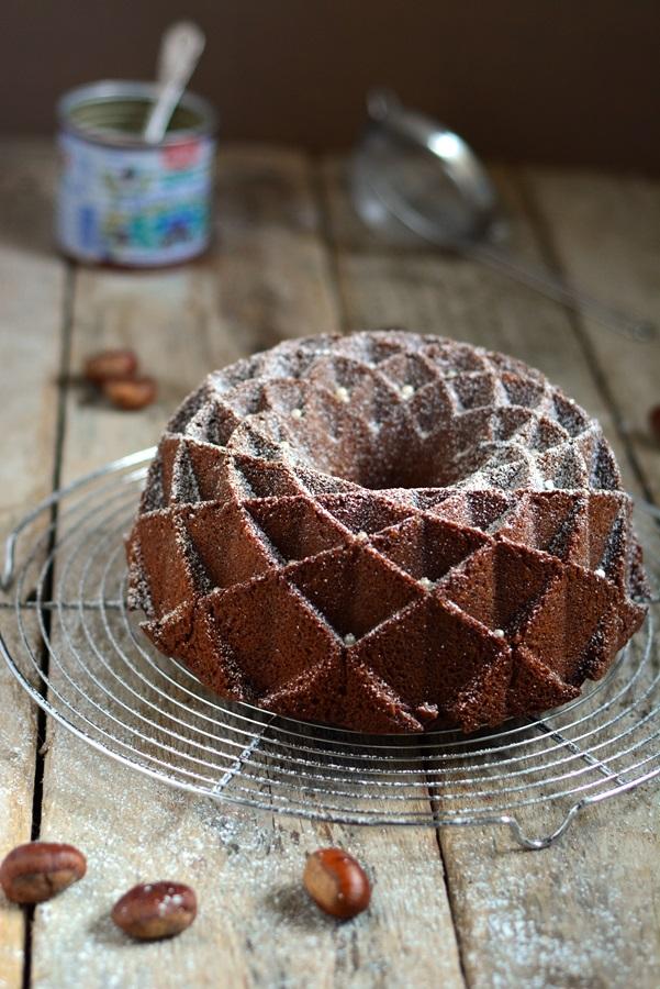 ardéchois ou bundt cake à la crème de marrons