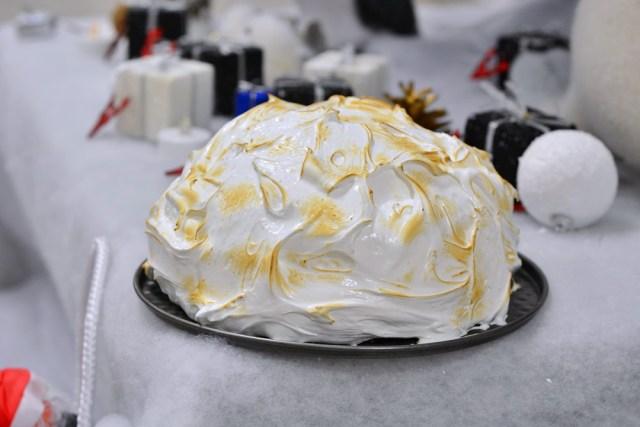 bûche dôme cheesecake