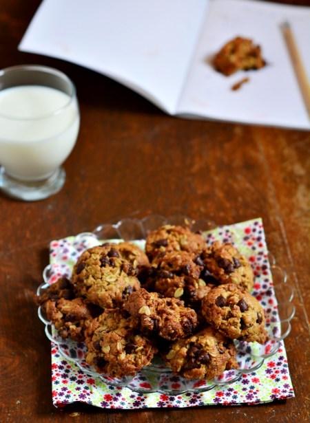cookies huile olive avoine