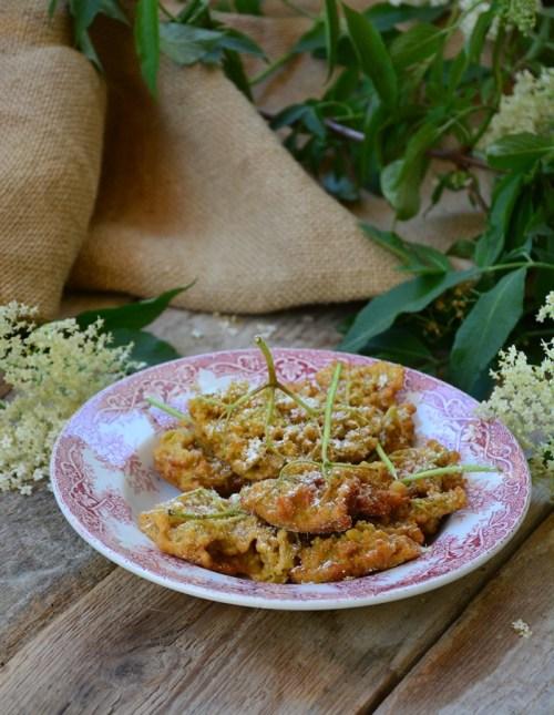 beignets de fleurs de sureau