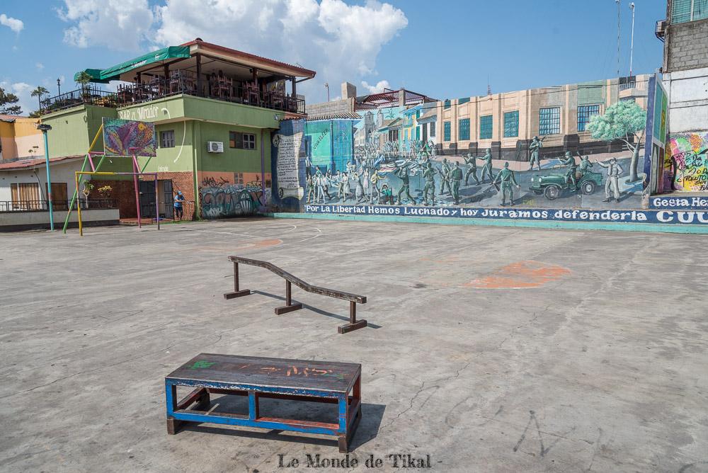 nicaragua leon street art rue skate park
