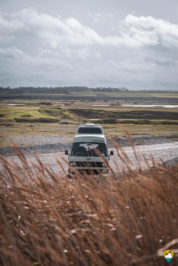 Baie de Somme - Le Hâble d'Ault - Karl, notre Volkswagen T3