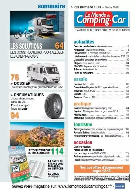 Le Monde Du Camping-car Rencontre : monde, camping-car, rencontre, Vérité, Guerre, Poids,, Monde, Camping-Car, N°308