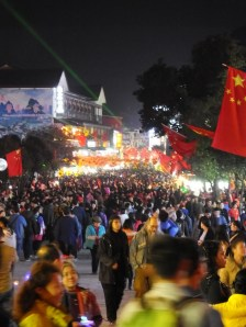 Un peu de monde à Yangshuo ??? 😅