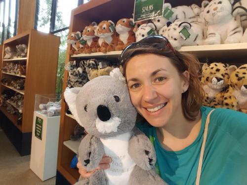 Selfie avec un koala!