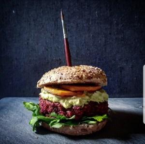 barberosse e quinoa burger