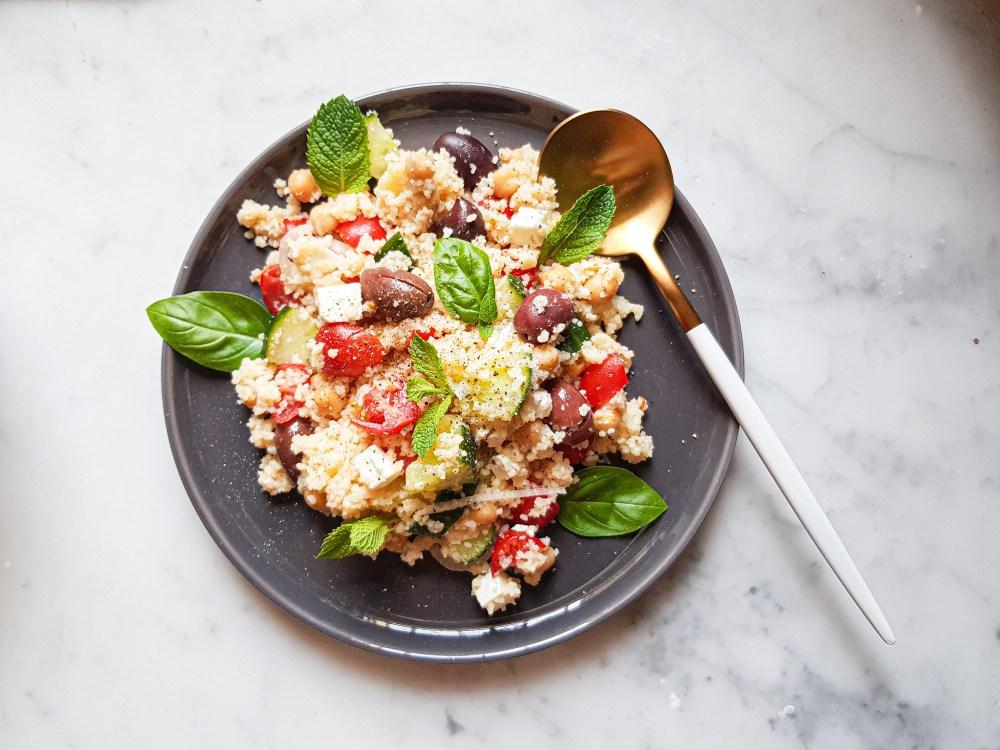 insalata di couscous mediterranea