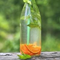 Lemoniada pomarańczowo miętowa