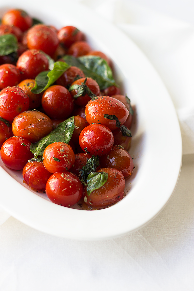 Roasted Herb Tomatoes