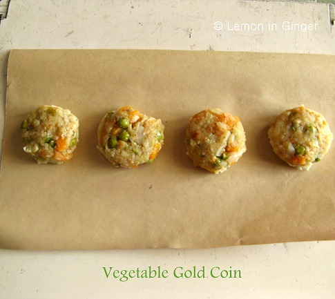 Vegetable Gold Coin