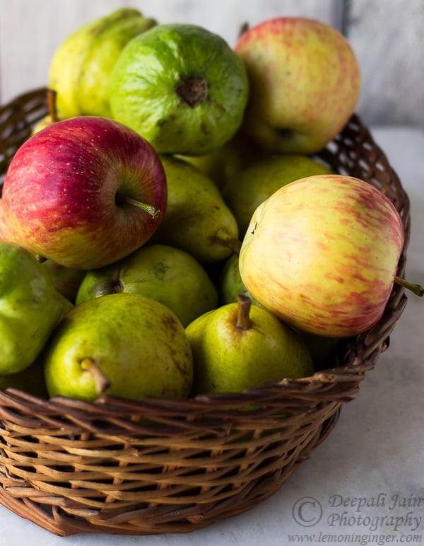 Photostory: Custard Apple & Working with Custom White Balance