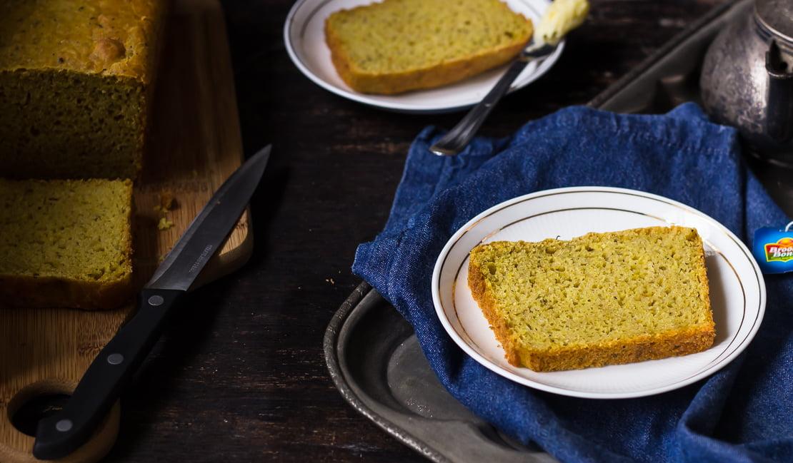 No-Knead Whole Wheat Masala Bread