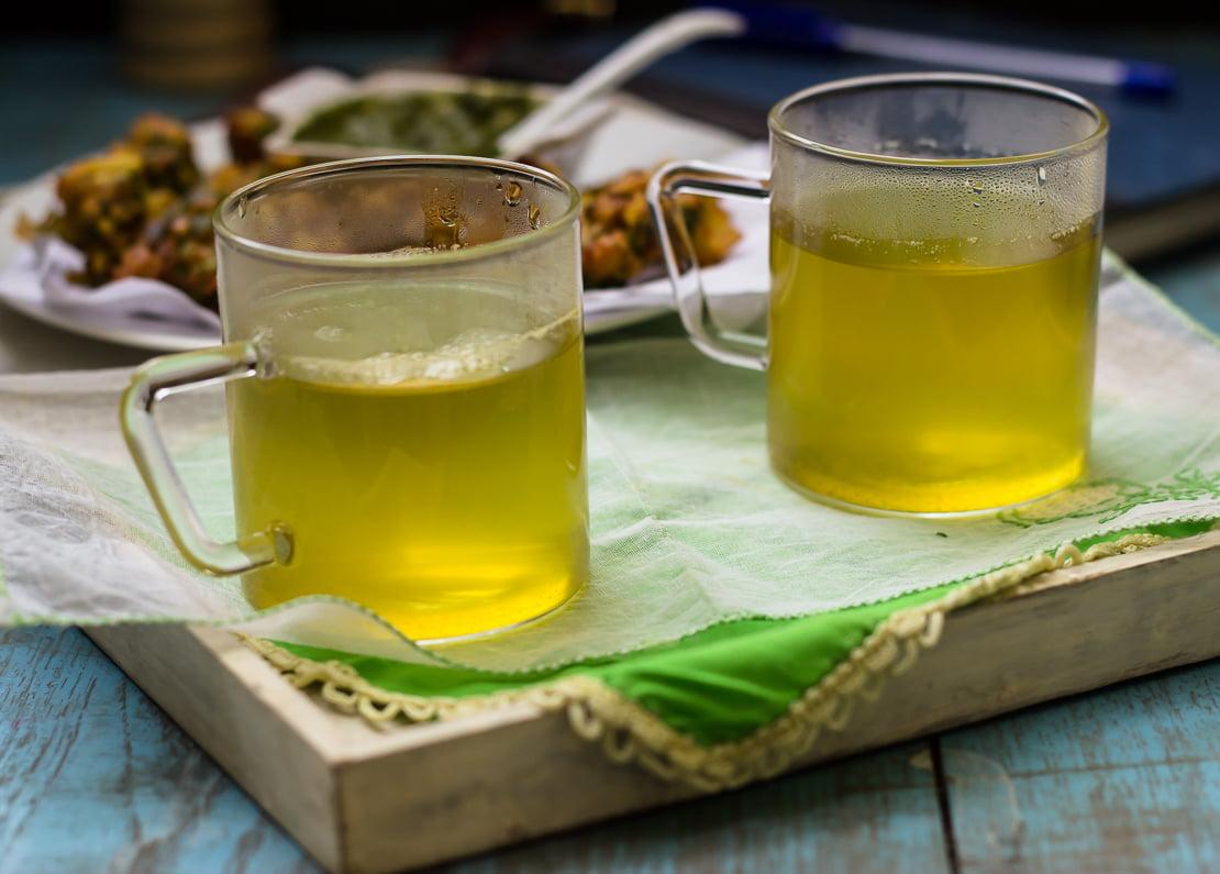 Lemongrass Ginger Herbal Tea