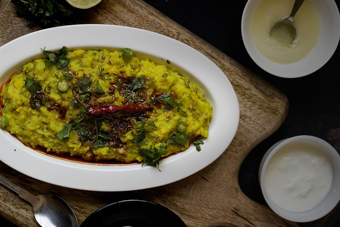 Bajre ki Khichdi | Pearl Millet Khichdi