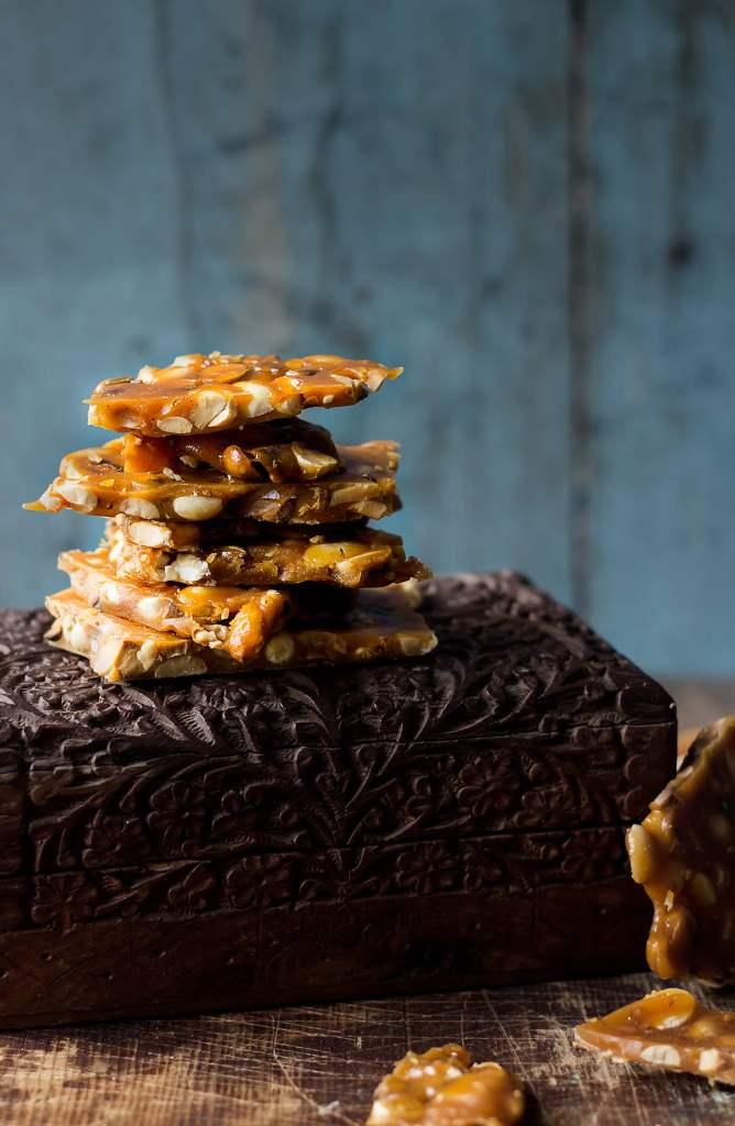 Peanut Chikki | Peanut Brittle