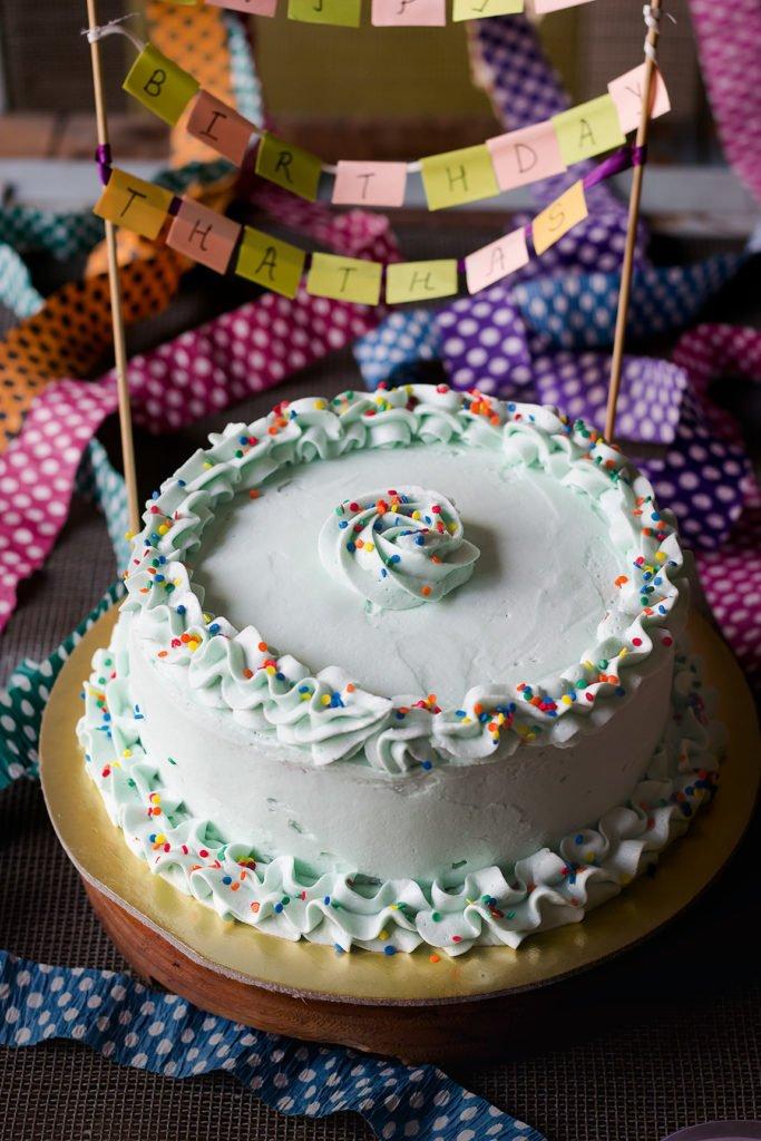 Buttercream Chocolate Cake