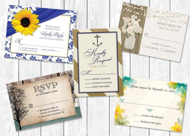 What Does The M Mean On Rsvp Cards