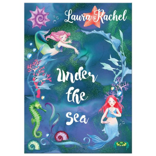 Under the Sea Mermaid Bat Mitzvah Invitation